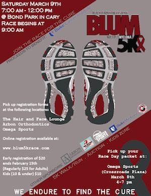2nd Annual Blum 5k