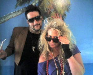 May 21, 2008: Drew and Karen @ Duran Duran